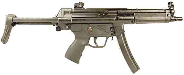 H&K MP5 Submachine Guns in Hungary