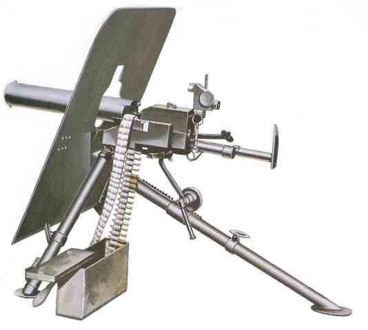 Austro Hungarian Skoda Machine Guns
